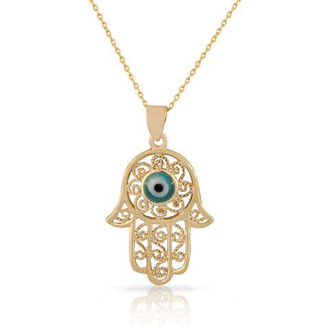 925 sterling silver filigree womens blue evil eye hamsa
