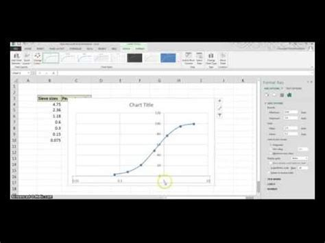 semi log plot on excel youtube how to create a semi log graph on excel 2007 how to add