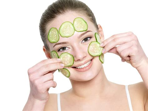 www cara variasi masker timun untuk wajah bagaimana cara