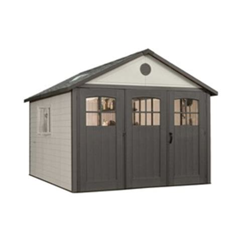 Lifetime Sheds Lowes by Shop Lifetime Products Gable Storage Shed Common 11 Ft X