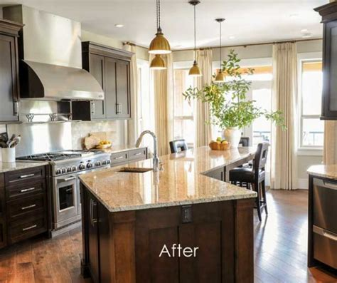 how to mix metals in a kitchen mixing metals how to update a brown kitchen by adding