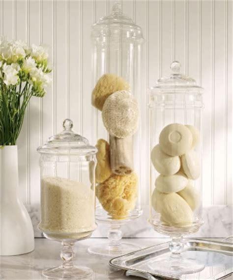 Bathroom Apothecary Jars Spa Bathroom Design Part 3 Accessories Mjn And Associates Interiors