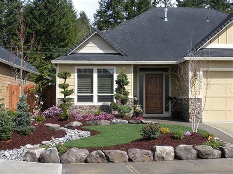 gorgeous low maintenance landscaping ideas rocks front front yard low maintenance landscaping like the contrast