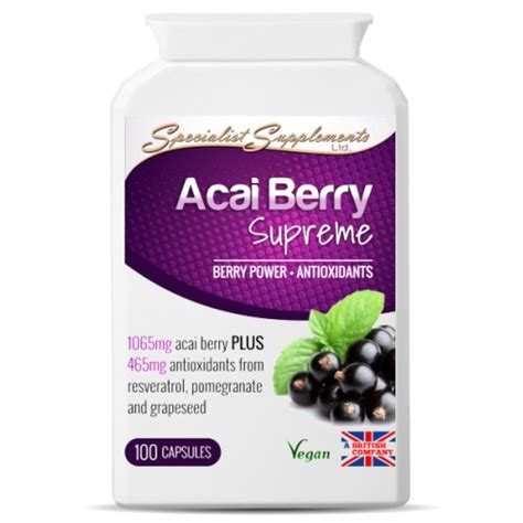 Acai Berry Detox Tablets by Acai Berry Tablets Healthy Boost