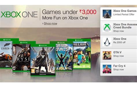 amazon xbox one games halo forza horizon 2 other xbox one games now discounted