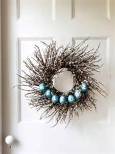 diy twig wreath 40 creative diy easter wreath ideas to beautify your home