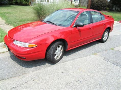 how does cars work 2003 oldsmobile alero lane departure warning sell used 2003 oldsmobile alero gl sedan 4 door 3 4l in annapolis maryland united states for