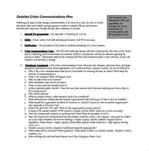 mental health crisis management plan template free pdf crisis management plan blogsover