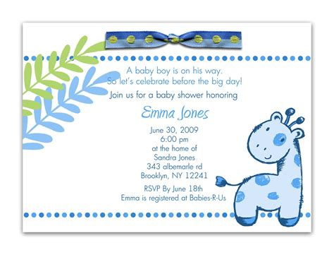 Baby Shower Invitation Card Wording by Baby Shower Invitation Baby Shower Invitation Wording