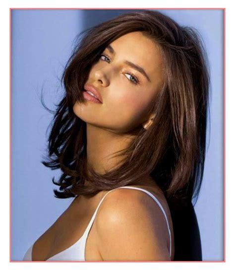Hair Ideas medium length hairstyles for brunettes 2018