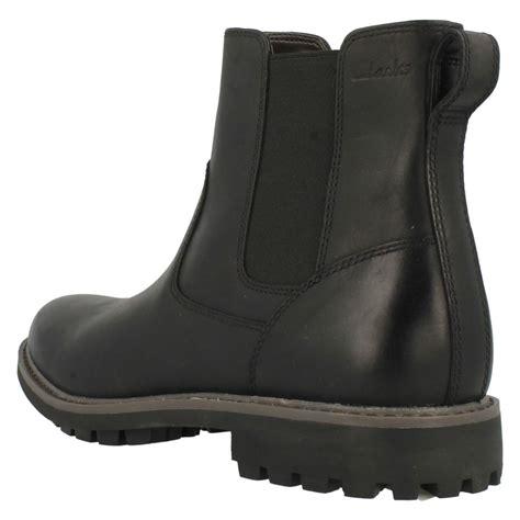 mens clarks chelsea boots montacute top
