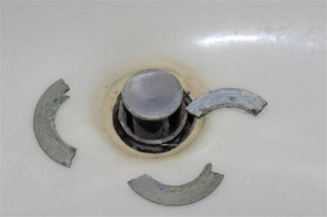bathroom sink drain replacement bathroom sink drain flange repair please help doityourself com community forums