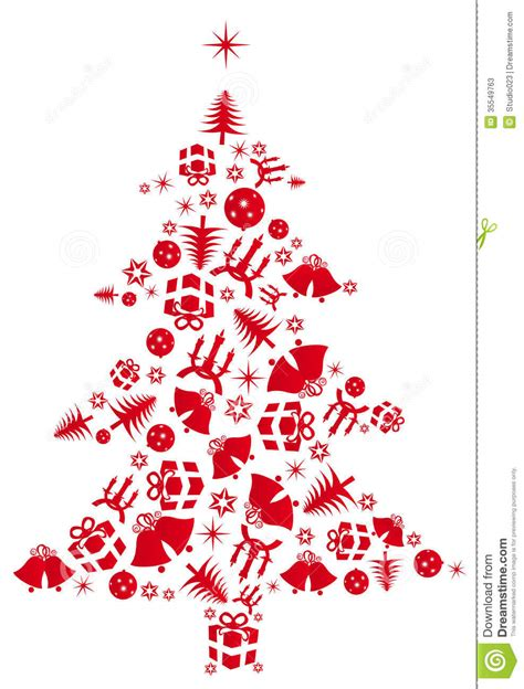 what is the sybolises cgristmas tree vector tree stock vector image of modern 35549763