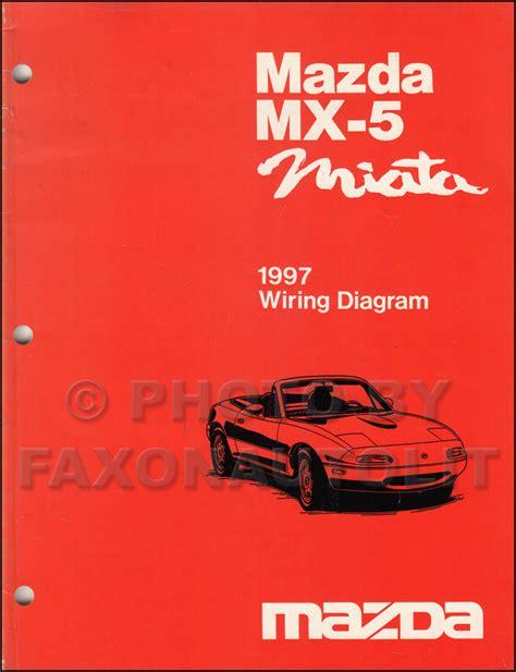 car repair manual download 1997 mazda mx 5 user handbook 1997 mazda mx 5 miata wiring diagram manual original