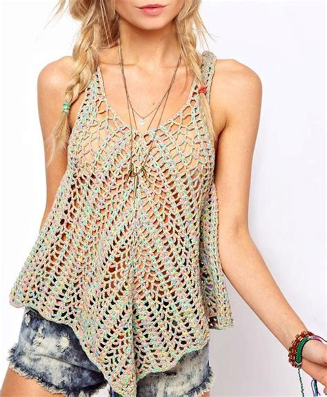 crochet top crochet top pattern detailed in for