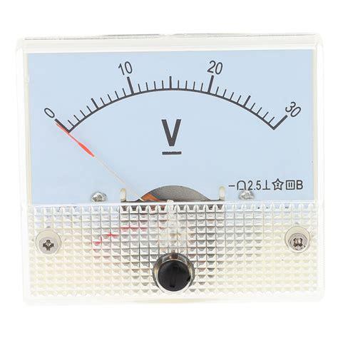 Voltmeter Analog kopen wholesale analoge panel voltmeter uit china