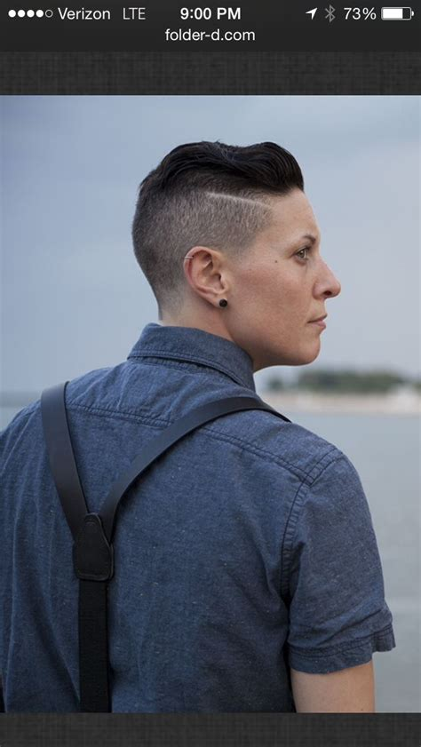 Queer Haircuts Chicago   126 best androgynous modeling dapperq queer model men