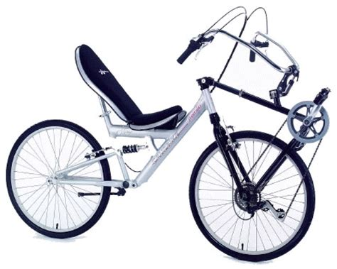 reclined bike recline in style on front wheel drive bicycles from