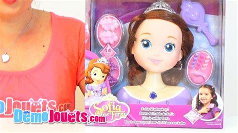 Robe Princesse Sofia Toys R Us - jouet princesse sofia t 234 te 224 coiffer imc toys d 233 mo