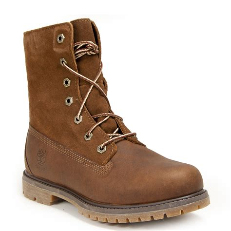 s fold boots timberland s fold boot in brown lyst