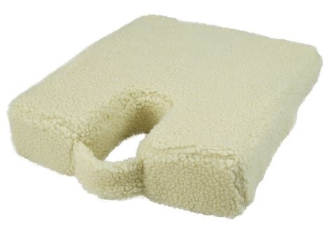 Wedge Pillow Australia by Su 2340 Wedge Cushion With Coccyx Cut Out Fleece Cover