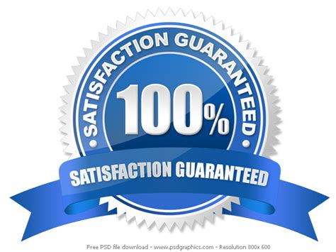 psd guarantee seal psdgraphics