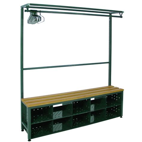 Locker Room Benches With Shoe Storage