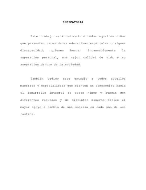 ejemplos de dedicatorias de tesis tesis para zonapsicopedagogica