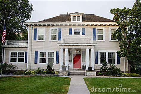 classic american house classic american house stock photos image 28222793