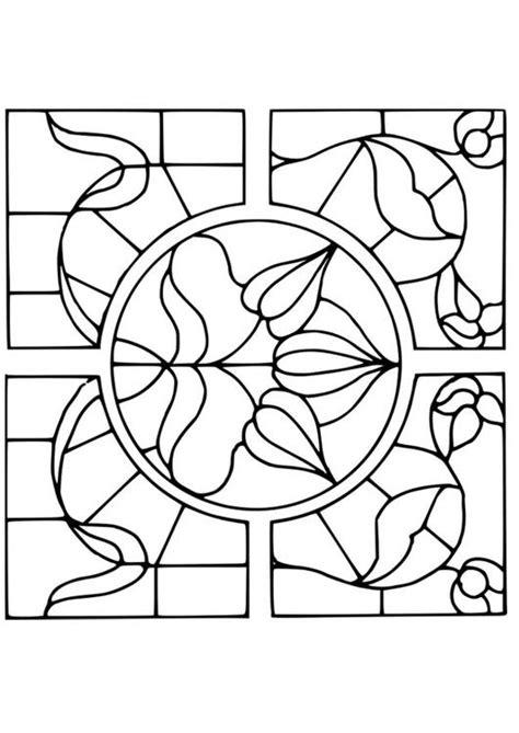 imagenes para pintar vidrio dibujo para colorear vidrio con dibujo de flores img 18641