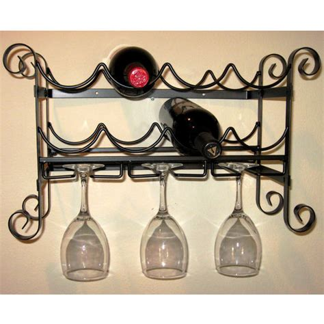 Metal Wall Wine Racks by Wine Racks Wine Bars Wine Furniture Stemware Racks Wine Openers With Free Shipping