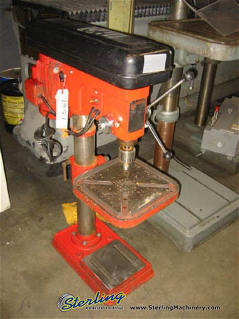 used bench drill 17 quot used rexon bench drill press mdl rdm 170a sterling machinery sterling machinery