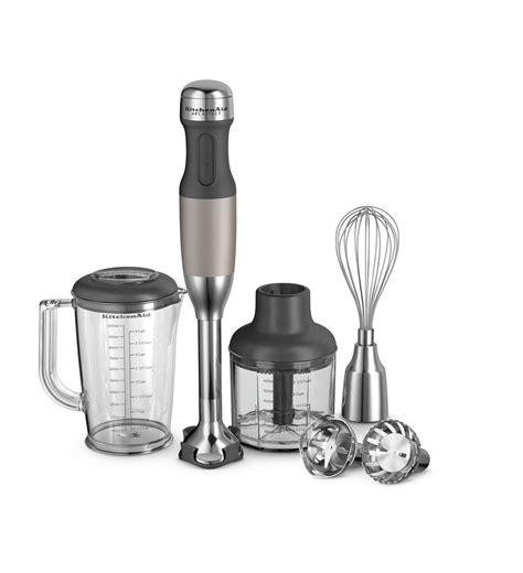 KitchenAid® Architect Series 5 Speed Hand Blender (KHB2561ACS Cocoa Silver)   KitchenAid