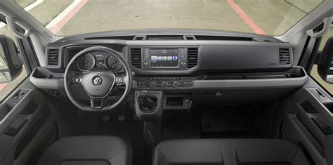 volkswagen crafter interior 2017 volkswagen crafter unveiled arrives in australia