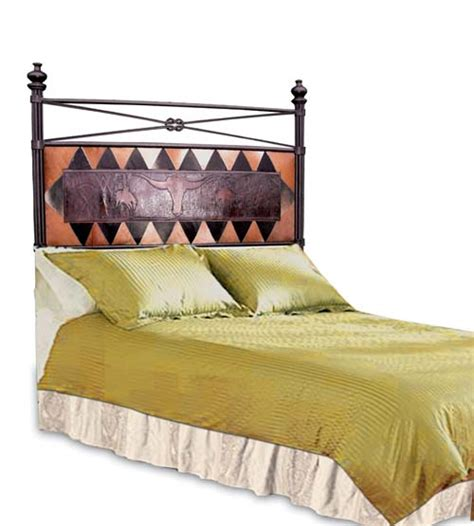 Western Headboards For Beds by Western Iron Headboard Western Bedroom Furniture Free