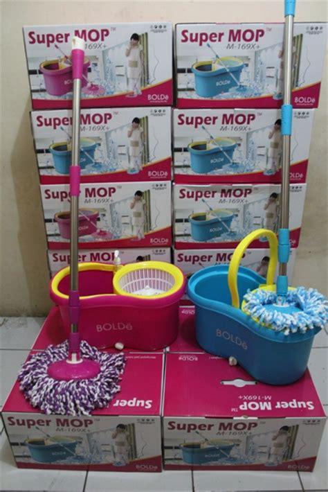 Tongkat Pel Lantai Pink mop volante m169x plus refill pewangi alat pel