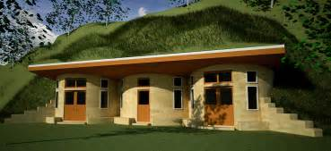 Earth Contact Home Designs Earth Sheltered House Plans