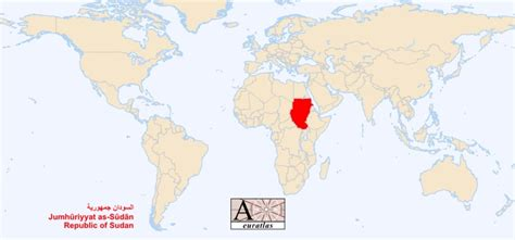where is sudan on the world map world atlas the sovereign states of the world sudan sudan