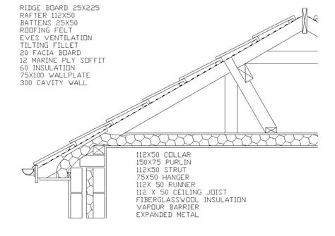 Roof Construction Details Construction Drawings