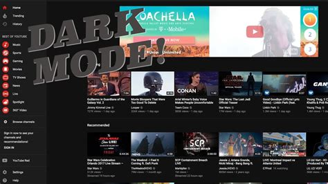 youtube dark layout youtube dark mode how to activate new layout video