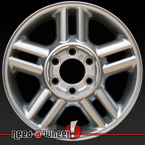 ford expedition wheels  sale   silver rims