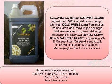 Minyak Kemiri Miracle distributor penumbuh rambut literan 0856 5521 9797 indosat
