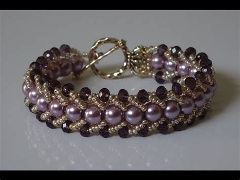 how to make your home beautiful how to make a beautiful and easy pearl bracelet flat