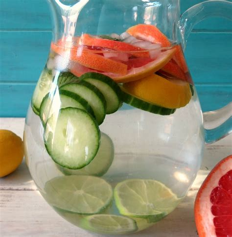 Fruit Water Detox For Skin by Healthy Fruit Water Recipes To Replace Soda For Your Health