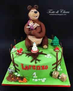 Minions Cake Decorations Torte Di Clara Masha And The Bear Cake 6