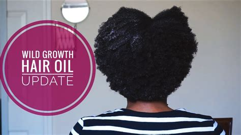wild hair growth oil  work   product reviews natural hair youtube