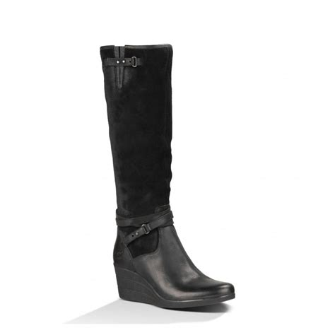 ugg s lesley uptown wedge boots 1005266