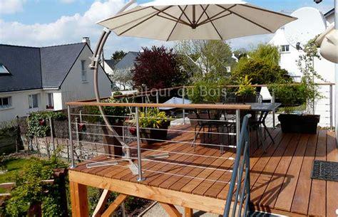 Construire Terrasse Bois Sur Pilotis by Construire Une Terrasse Bois Sur Pilotis