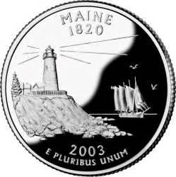 Maine state quarter 50 state quarters state quarters