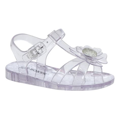 jelly shoes for baby joe boxer toddler s jelly sandal vera clear shop